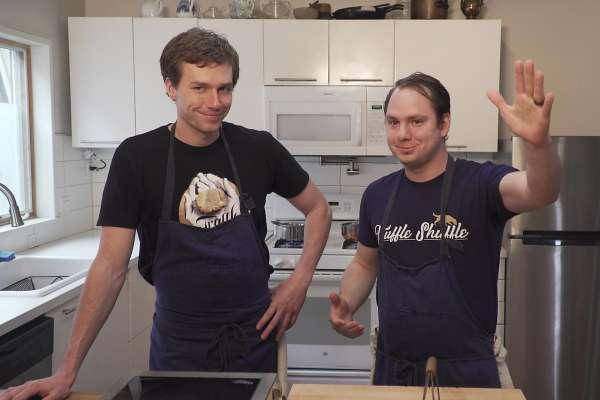 Truffle Shuffle meets Charles Krug